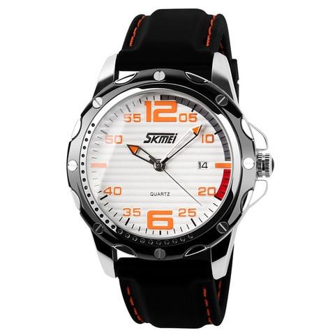 man fashion casual watch men sports watches men military wristwatches mans silicone strap quartz wristwatch relogio masculino Karachi