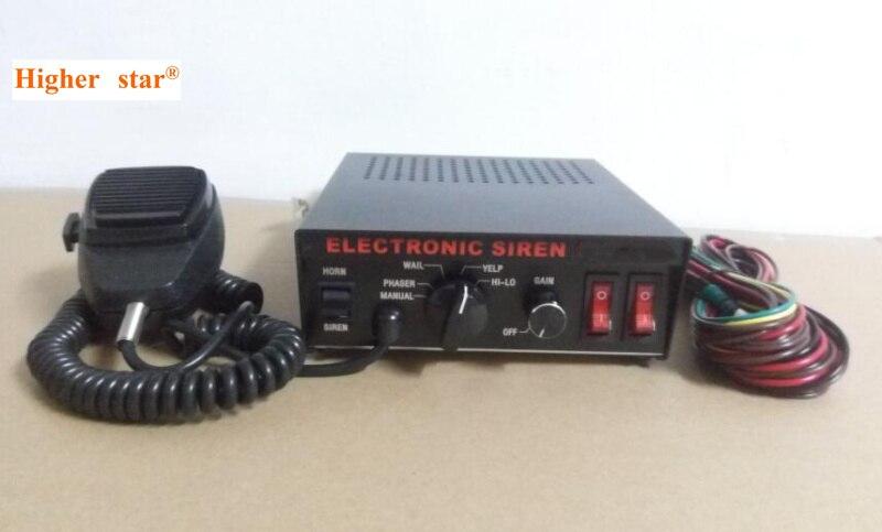 Выше Star 100 Вт полиции электронного Siren, скорая помощь сирены, пожарный автомобиль сигнализации для экстренного транспортных средств (без дин... ...