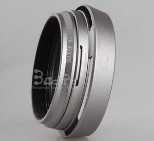 Image 3 -  Trong LA Fujifilm Fuji Camera x100 x100s x100t Bộ Chuyển Đổi Ống Kính + Lens Hood + 49 mét UV Lọc + Lens Cap
