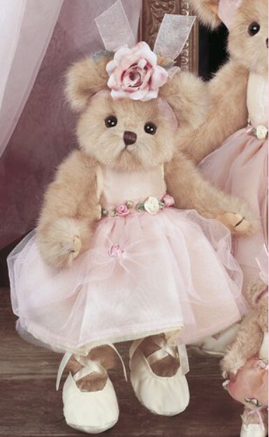 Lovely 10 Inch Bearington Teddy Bear Ballet Soft Plush -7939