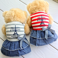 Tower Pets Clothes For Yorkshire Terrier Dogs Puppies Small Big XXXL Animals Breeds Striped Summer Wedding