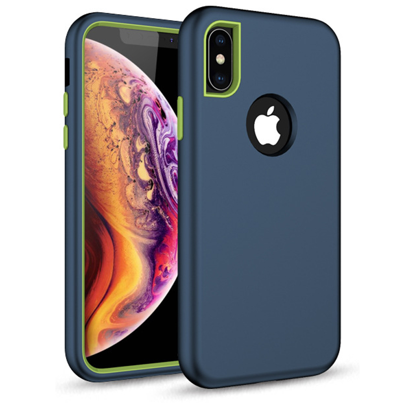 Phone <font><b>Cases</b></font> For <font><b>iPhone</b></font> <font><b>Xs</b></font> Max <font><b>X</b></font> XR 6 6s 8 7 Plus <font><b>Case</b></font> <font><b>Shockproof</b></font> <font><b>Protect</b></font> Hybrid Hard Rubber Impact Armor <font><b>Case</b></font> Cover image