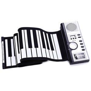 Портативная Гибкая силиконовая цифровая мягкая клавиатура MIDI с 61 клавишами, 2018, пианино, гибкое электронное пианино