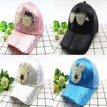 Summer Healthy Breathable Net Hats For Children Kids Hat Boys And Girls Baseball Caps Cute Mouse Lovely Cartoon Baseball Hat