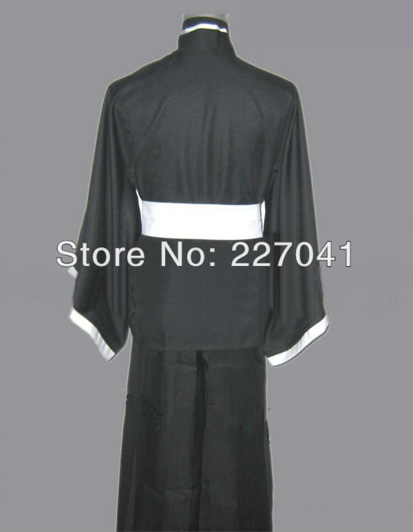 Bleach Cosplay Costume Shinigami Kimono Cosplay  Halloween Free Shipping