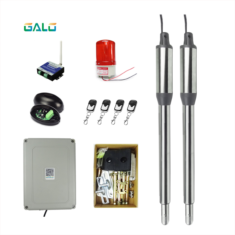 GALO swing gate motor kit Separated on both sides home farm gates use Actuator Automation swing gate opener galo swing gate opener double waterproof dual home use automatic swing gate opener