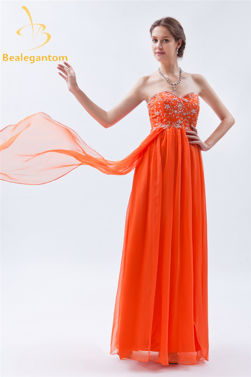 Bealegantom Fashion Embroidery A Line Evening Dresses 2019 With Beading Plus Size Formal Party Prom Gown Vestido Longo BE26 in Evening Dresses from Weddings Events