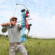 Arco recurvo profesional para tiro con arco, potente arco de caza de 40lbs, adecuado para tiro de caza al aire libre, accesorios de práctica de flechas