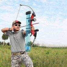 전문 Recurve 활 양궁 40lbs 야외 사냥 슈팅 연습을위한 강력한 사냥 활 양복 화살표 액세서리