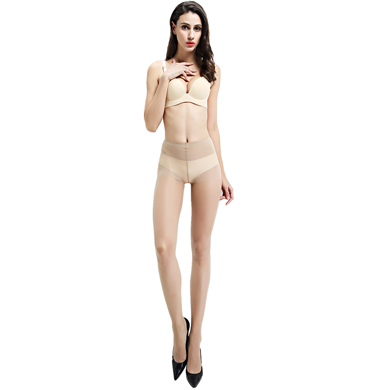 fc1d8ae0b7d 2016 New Summer Fashion Slim Anti Hook Wire Cored Wire Pantyhose Tight  Cotton Nylon Solid Women