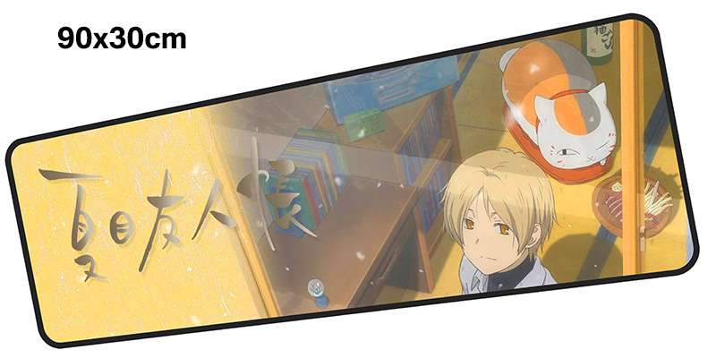 natsume yuujinchou mouse pad gamer 900x300mm notbook mouse mat gaming mousepad Customized pad mouse PC desk padmouse accessories