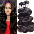 Ali Moda Hair Brazilian Body Wave 8A Unprocessed Brazilian Virgin Hair Body Wave 4pcs Human Hair Brazilian Hair Weave Bundles