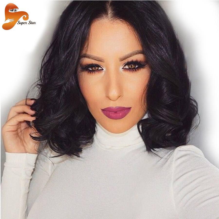 8a Wet And Wavy Lace Front Human Hair Wigs Glueless Full
