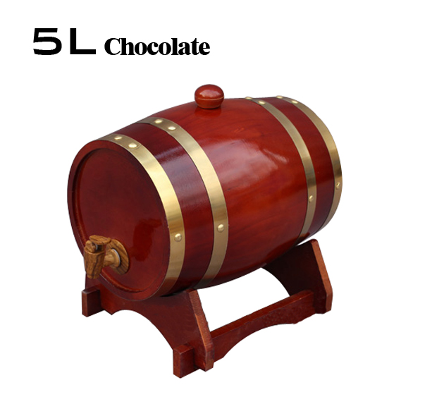 5l Oak Barrels Red Wine Barrel Bladder Bar Hotel Sets Wooden Barrel