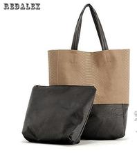 Large Capacity Handbags Women Bags Alligator Pattern Stitching Bolsas De Couro Fashion Famous Shoulder Bag Ladies Bolsas