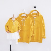 Family look sweater spring new family matching clothes mother and daughter clothes father son family clothing outfits hoodies