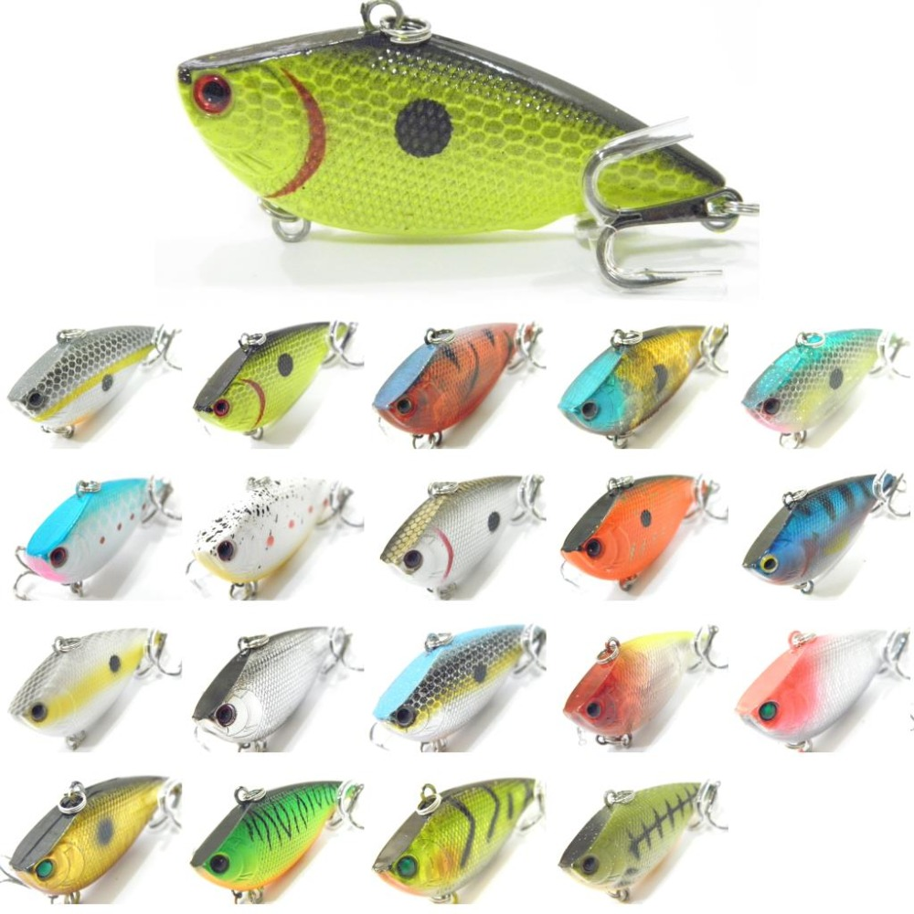 Wlure fishing lure lipless trap crankbait hard bait deep for Crappie fishing with minnows