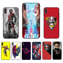 IMIDO Ant man Marvel  Cellphones covers case For Iphone 5 5S SE 6 6S 6PLUS 6SPLUS 7 8 7PLUS 8PLUS X XS XR XSMAX imido big money 100 dollars design case soft silicone cellphones for iphone 5 5s se 6 6s 6plus 7 8 7plus 8plus x xs xr xsmax