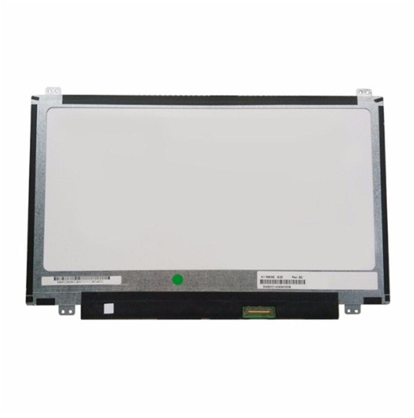 NEW 11.6'' Laptop 30 pins LED LCD Screen Display Panel Matrix for AU OPTRONICS N116BGE-E42 N116BGE-E32 1366x768 n116bge ea2 e42 e32 eb2 fit b116xtn01 0 m116nwr1 r7 30pins left right ears edp