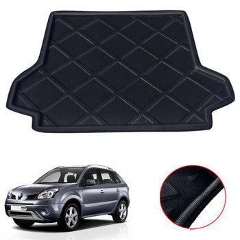 For Renault Koleos 2006-2017 Car Rear Trunk Liner Cargo Boot Mat Floor Tray Auto Interior Accessories Styling Car-covers trunk mat for chevrolet cobalt 2013 2015 trunk floor rugs non slip polyurethane dirt protection interior trunk car styling