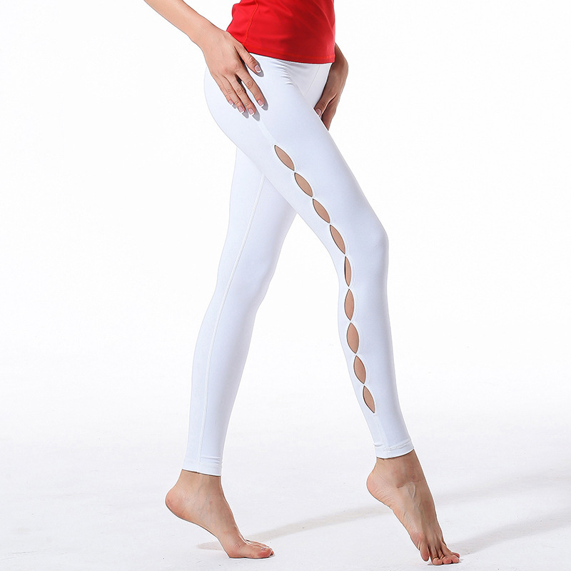 Yoga Serve Major Yoga Pants Woman Crossing Trousers Run Motion Self-cultivation Thin Bodybuilding Pants Hollow Out