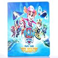 Fashion Movie cartoon Dog Paw Patrol Pu leather stand holder Cover Case For ipad air 2 for ipad air2 with pen gift