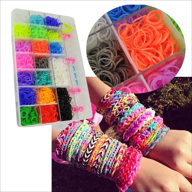 We Love Bags New Merchandise Diy Loom Rubber Bands For Bracelet Anklet