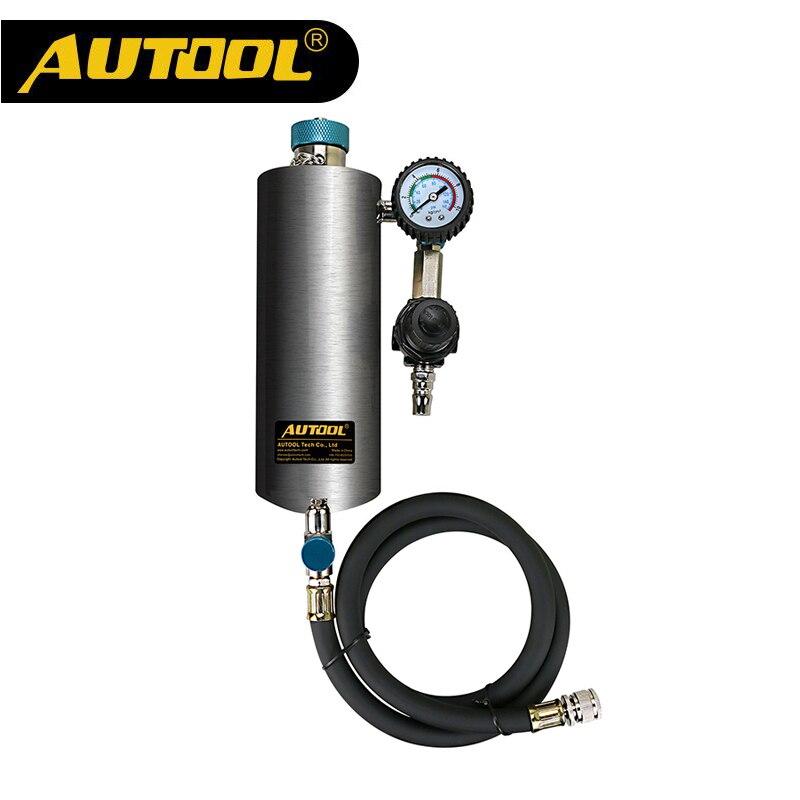 Neue Marke AUTOOL C80 Nicht Demontieren Auto Kraftstoffeinspritzdüsereinigungsmittel Auto Kraftstoffeinspritzdüseprüfvorrichtung Waschen Werkzeug