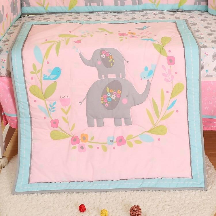 1 шт., Хлопковое одеяло для детской кроватки, 33*42, для мальчиков и девочек, Универсальное Детское одеяло с мультяшным принтом, детское одеяло, одеяла для кроватки, детские вещи для новорожденных - Цвет: comforter only25
