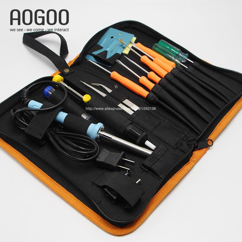 buy new 17 in 1 soldering iron 40w tool package household ma. Black Bedroom Furniture Sets. Home Design Ideas