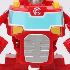 Image 5 - 13 Cm Playskool Heroes Transformers Rescue Bots Energize Heatwave De Fire Bot Hot Shot Rescan Chase De Politie Bot action Figure