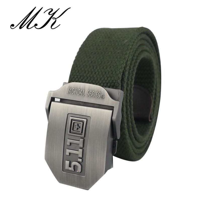 Closeout DealsMaikun Canvas Belts Automatic Buckle Military Metal Tactical Casual-Style Men