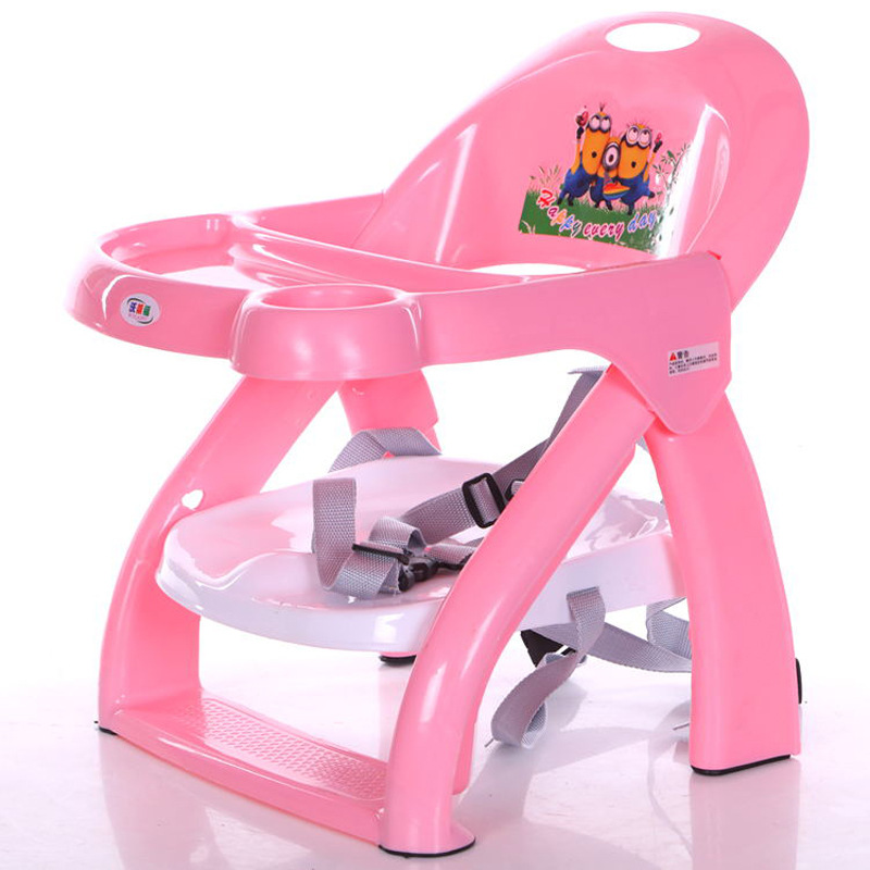 New Children's Multifunctional Folding Dining Chair Male And Female Baby Eating Chair Portable Hair Dinning Chair