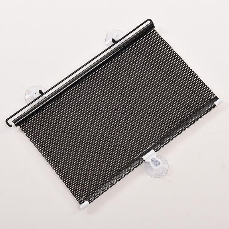 1 PC Black Dot Car Auto Window Roll Blind Sunshade Windshield Sun Shield Visor 45 x125cm in Windshield Sunshades from Automobiles Motorcycles