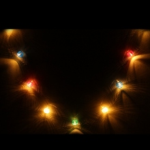 1020 led string light battery non waterproof lantern shaped patio christmas wedding party decoration led fairy holiday light - Non Led Christmas Lights