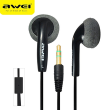 Awei Earpieces Earbuds Headset Headphone In-ear Earphone For Your In Ear Phone Buds iPhone Samsung Player Smartphone Computer PC hot sale universal 3 5mm in ear music earbuds ear buds earphones for iphone for samsung professional earphone headphone headset