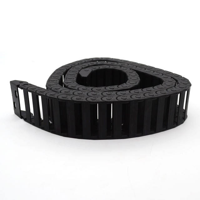 1 pcs 7x 7mm Drag Chain 1000mm Towline/Cable carrier /nylon Tuolian/engineering towline / towline cable for engraving machine