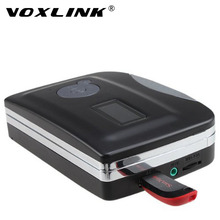 VOXLINK USB Cassette Convert With Earphone Old Tape to Digital Music Files into USB Disk Cassette Converter Player Recorder