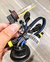1 Pair 12V 55W 3500LM 9012 HIR2 AC HID Xenon Replacement Headlamps Bulbs Metal Base High