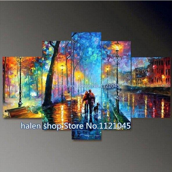 3D Square 100% Full Diamond Painting Rhinestone Craft Mosaic Diamond Embroidery Cross Stitch Colorful scenery painting AS044