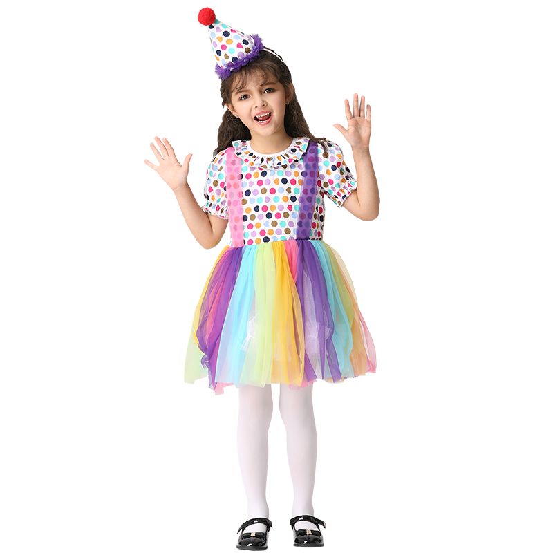Carnival Fancy Dress for Children Birthday Costume for Girls Halloween Christmas Masquerade Cosplay Clothes