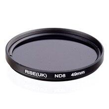 RISE(UK) 49 mm Neutral Density ND8 Filter FOR ALL Camera lens