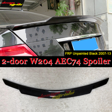 W204 Tail Spoiler Wing FRP Unpainted C74 Style C Class 2 doors C180 C200 C250 C300 C63 Look Rear Trunk 2007-13