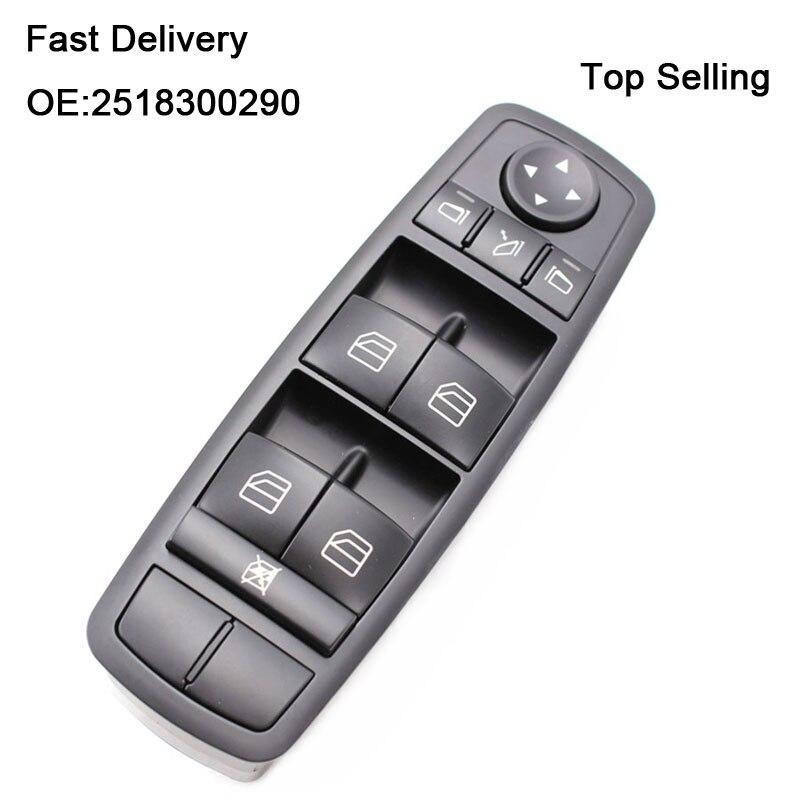 YAOPEI Мощность переключатель окна 2518300290 A2518300290 251 830 02 90 для Mercedes W164 GL320 GL350 GL450 ML320 ML350 ML450