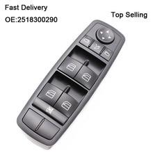 Power Window Switch 2518300290 A2518300290 A 251 830 02 90 For Mercedes W164 GL320 GL350 GL450 ML320 ML350 ML450 ML500 R320 R350 air suspension compressor for mercedes benz w164 ml350 gl320 gl350 ml450 pneumatic suspension 1643201204 1643201004 1643200904
