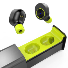 2017 Hot Sale Bluetooth font b Earphone b font New Wireless Earbuds TWS i7 Headset With