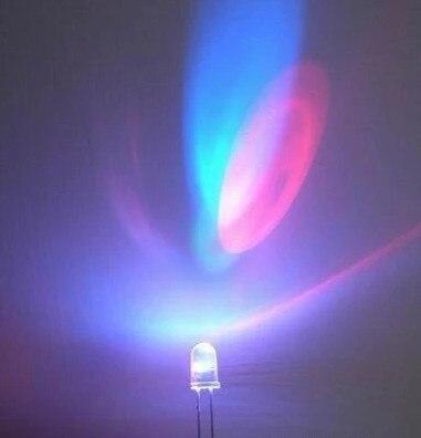 100PCS 2PIN 3MM RGB 7 color Fast flash LED light-emitting diode (LED) 3mm RGB 7 color fast flash LED