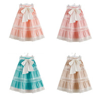 Retail baby Girls summer skirts, lace tutu bow clothing, party skirt, 1BH409CS 15R, [Eleven Story]