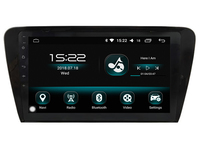 Octa core android 8.0 4gb ram and 32gb rom ips screen car radio gps navigation system for Skoda Octavia 2014 video player