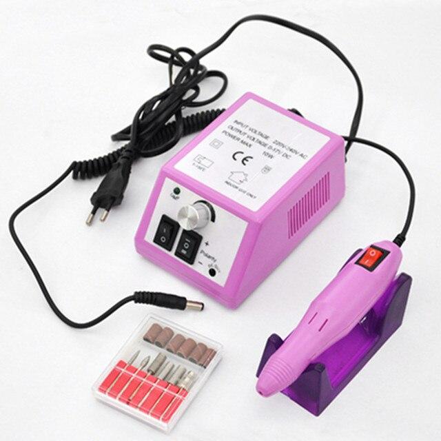 Electric Professional Nail  Manicure Machine Manicure Pedicure Pen Tool Set Kit